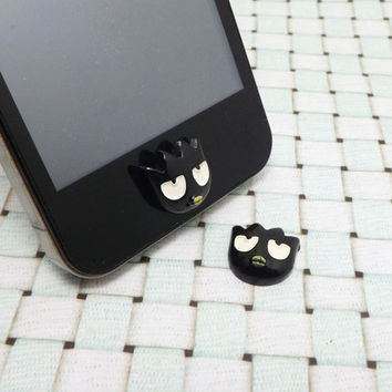 Cute Black Little Bird Home Button Sticker for by Polaris798