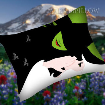 Musiccal Witch - Pillow Case,Retro Pillow,Throw Pillow,Sova Pillow,Pillow Cover.The Best Pillow.