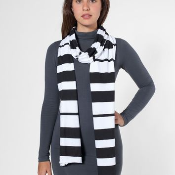 6445p - Unisex Printed Sheer Jersey Scarf