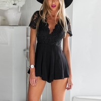 Summer Rompers Womens Jumpsuit