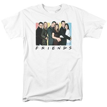 Men's Friends Cast Logo T-Shirt