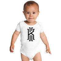 Kyrie Irving Logo Baby Onesuits