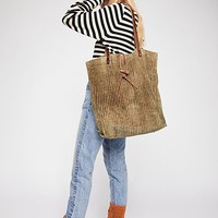 We The Free Corduroy Washed Tote