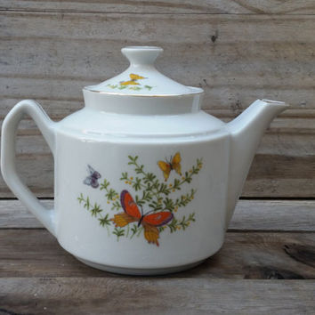 Butterfly Teapot Shafford by Ecstasy Co.