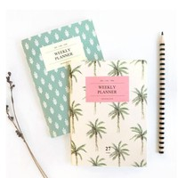 Palm Beach Weekly Planner Organizer Notebook