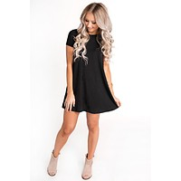Not That Type Basic Dress (Black)