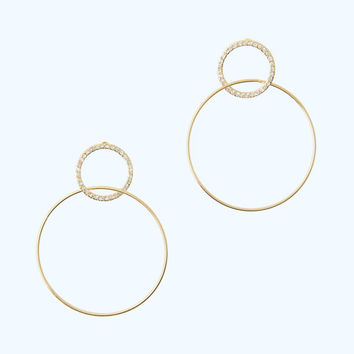 Sunkissed Hoop Earrings | 30737-goldmetallic | Lilly Pulitzer