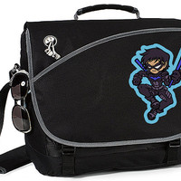 Nightwing from DC Comics Deluxe Laptop Messenger Bag Tons of Pockets Fits up to 15.4 inch Laptop Batman Robin