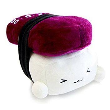 Japanese Food Sushi small Cushion Gift Plush Toy Decoration Pillow Hit Gift Toy ~Octopus 6""