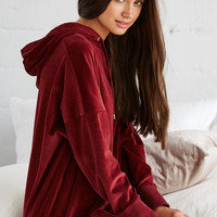 LA Hearts Velour Oversized Pullover Hoodie at PacSun.com