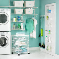 The Container Store > White elfa Laundry Room Solutions