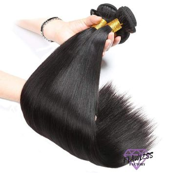 4 Bundles of Brazilian Silky Straight Hair