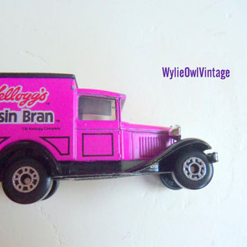 Vintage Raisin Bran Matchbox Ford Model A Car 1979