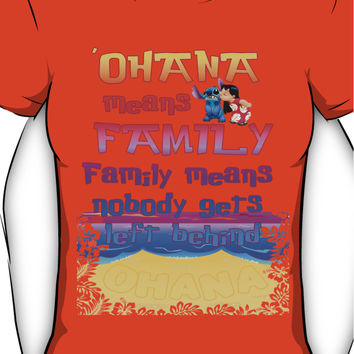 Ohana means family Lilo and Stitch Women's T-Shirt