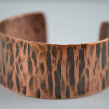 Hammered Copper Cuff, Copper Bracelet, Cuff Bangle, Copper Cuff, Copper Jewelry, Handcrafted Jewelry, Unisex Jewelry, Patina Cuff