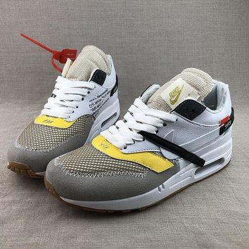 Nike Air Max 1 X Off-White Running Shoes - Best Deal Online