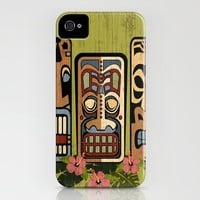 The Tiki Mafia iPhone Case by Tammy Wetzel | Society6