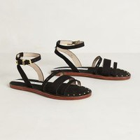 Hammerhead Sandals by Matt Bernson Black