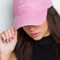 Bad Hair Day Baseball Cap - Blush