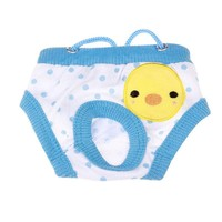 Pet Puppy Dog Cute Washable Diaper Underwear Cotton Shorts Sanitary Dog Hygiene Physiological Pant Panties Dog Briefs Trousers
