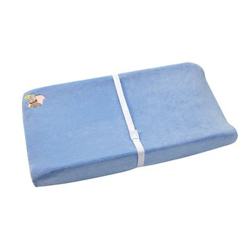Disney's Dumbo Contoured Changing Pad Cover (Blue)