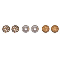 Classic Stud Earring Set | Wet Seal