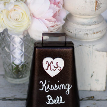 Rustic Kissing Bell Custom Wedding Decor (Item Number 140191)