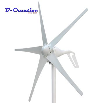 Wind Generator, 3/5 Blades For Turbine Ce&rohs Approval Power Generator+wind Controller