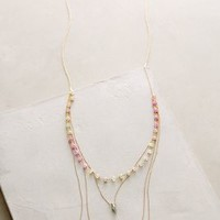 Pari Layered Necklace by RueBelle Gold One Size Necklaces
