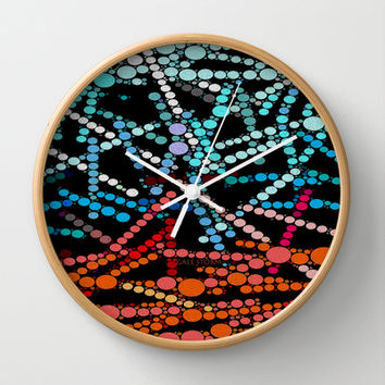 :: Crazy Days :: Wall Clock by GaleStorm Artworks