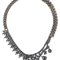 Iosselliani 'black On Black Memento' Necklace - Uzerai - Farfetch.com
