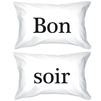 Bold Statement Pillowcases 300T -Count Standard Size 20 x 31 - Bon Soir