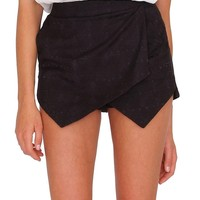 Hanging Out Skort - Black