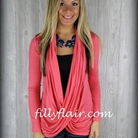 Pink wrap cardiganPurchase
