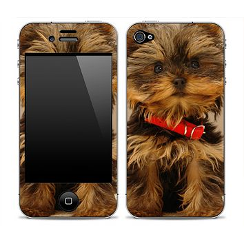 Cute Puppy iPhone Skin
