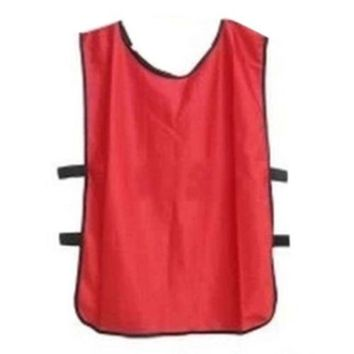 Football Player Soccer Training Vest   red