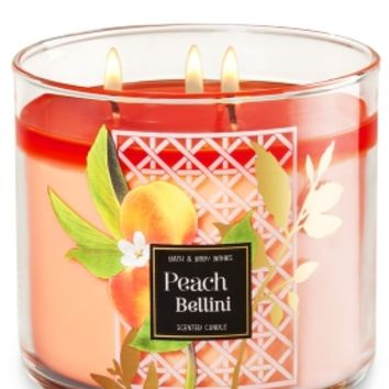 3-Wick Candle Peach Bellini