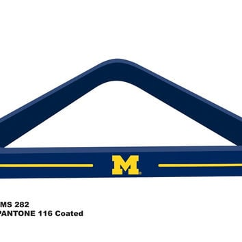 University of Michigan Billiard Ball Triangle Rack