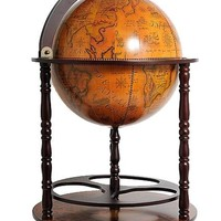 Globe drink cabinet 17 3/4 inches Hancrafted Globes & Globe Bars