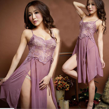 On Sale Hot Deal Cute Ladies Sexy Underwear Lace Skirt Exotic Lingerie [6596332931]