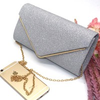 2017 Woman Evening Bag Women Diamond Rhinestone Clutch Crystal Day Clutch Wallet Wedding Purse Party Banquet Black Gold Silver