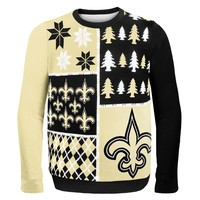 New Orleans Saints - Busy Block Ugly Sweater