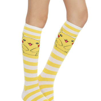 Pokemon Pikachu Knee-High Socks