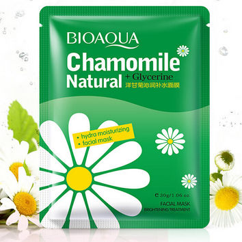 Pure Natural Chrysanthemum Extract Facial Mask (5 Pcs) Gift 06
