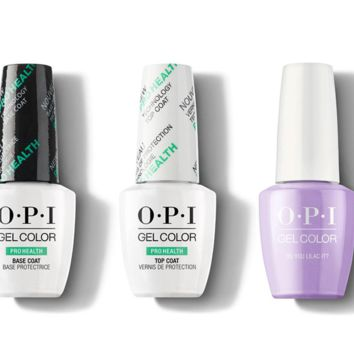 OPI - GelColor Combo - Base, Top & Do You Lilac It?
