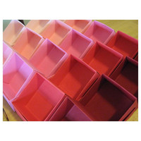 3 Inch Origami Favor BOXES - PINK  HUES - Gift Box Set