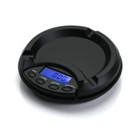 American Weigh Scale AT-100 Ashtray Scale, Black, 100 X 0.01 G