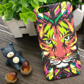 So Cool Luminous 3D Tiger Case Cover for iPhone 5s 6 6s Plus Gift 3