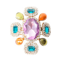 Chanel Multicolor Brooch