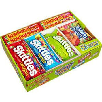 SKITTLE, STARBURST, LIFE SAVERS 30 CT 16 OZ